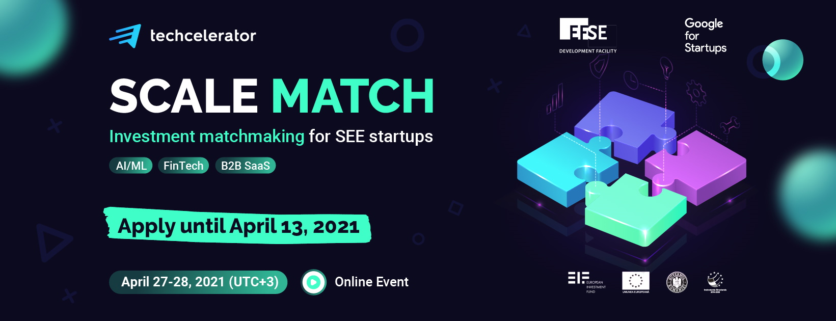 Techcelerator expands in SEE by launching Scale Match, the first regional matchathon